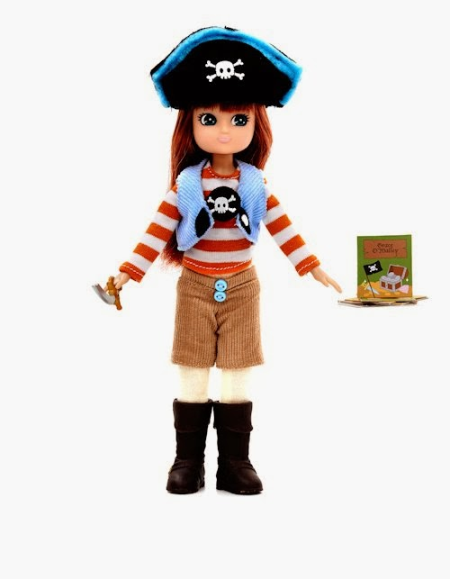 pirate queen lottie doll 1